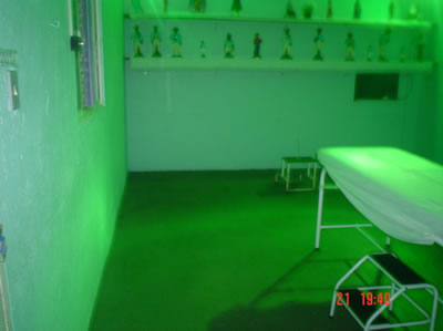 Green illumination, photo 1